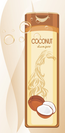 bath treatment: Coconut shampoo