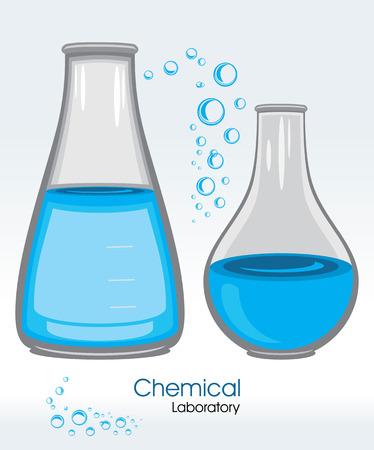 laboratory label: Chemical laboratory. Label