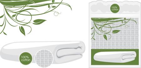 napkin: Cotton waffle towel
