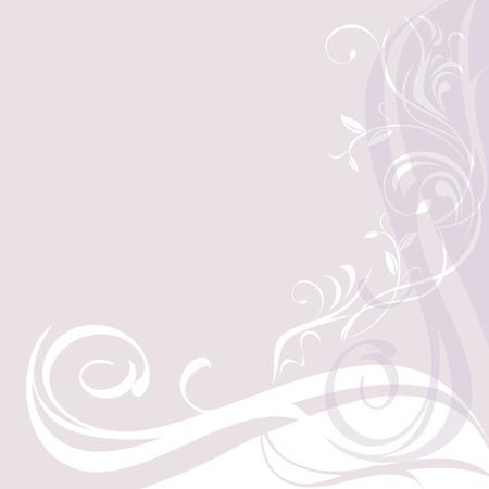 ornamental background: Light lilac ornamental background Illustration