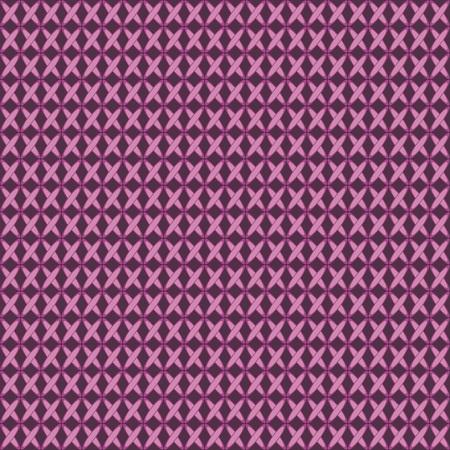 crewel: Purple crosses. Seamless texture