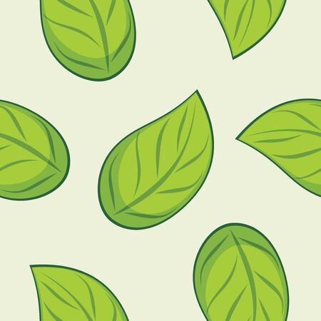 leafy: Seamless leafy texture for wrap design