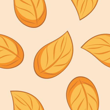 leafy: Seamless autumn leafy texture for wrap design