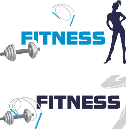 trainers: Fitness. Banners for design