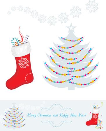decoration design: Christmas decoration for vintage design