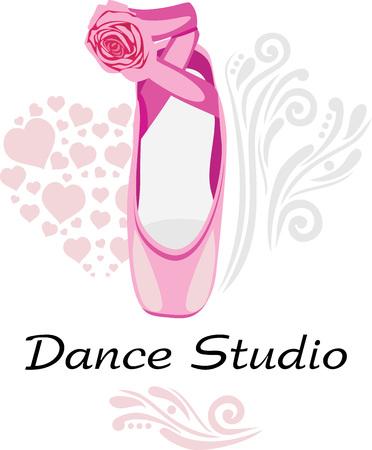 logotype: Dance studio. Logotype