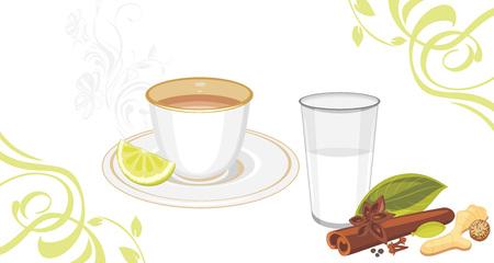 chai: Masala tea