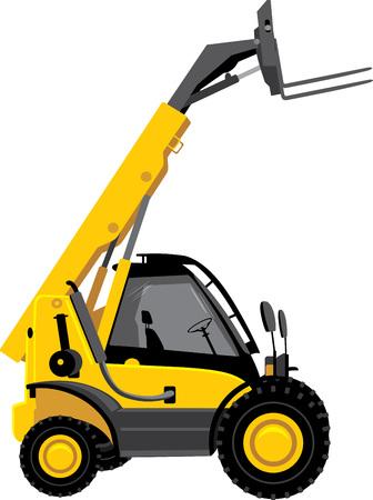 heavy vehicle: Forklift truck