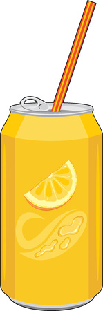 carbonated: Carbonated orange drink