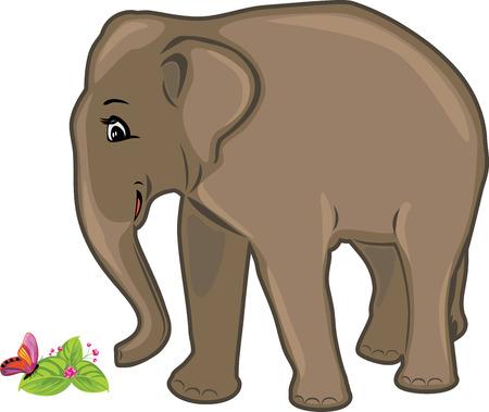 pampered: Friendly elephant