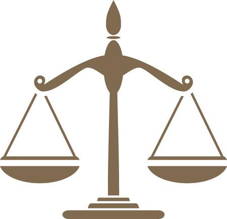 Libra. Symbol for design
