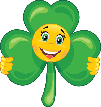 Smiley shamrock