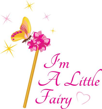 Magic wand for a little fairy
