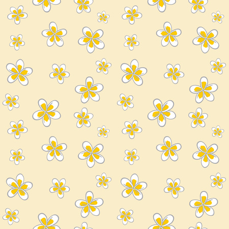 Plumeria pattern