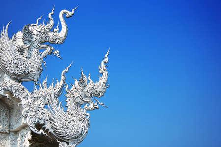 Wat rong khun Chiang rai, Thailand photo