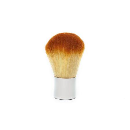 cosmetic brushes on white background photo