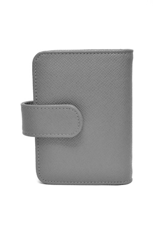 leather cards holder on a white background Stock Photo - 10880507
