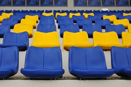 stadium seats Stock Photo - 10880523