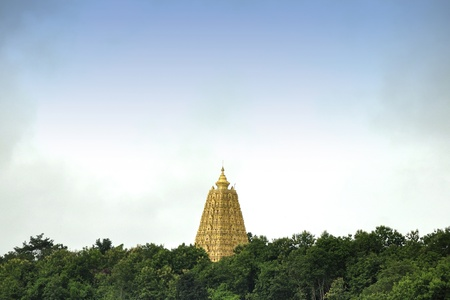 Bodh Gaya Temple from Thailand Stock Photo - 10880059