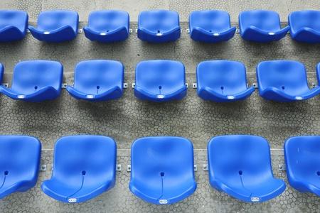 grandstand: stadium seats
