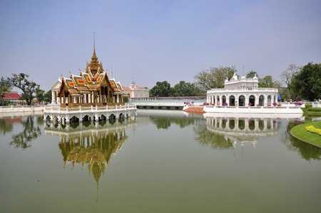 Bang Pa-In Palace in Thailand  Stock Photo - 11000591
