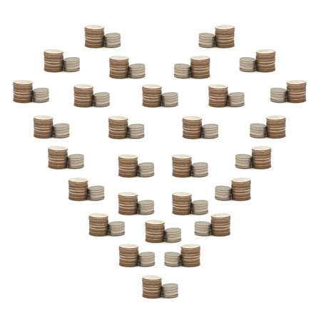 Increase your savings with heart Stock Photo - 11013324