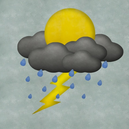 Weather plasticine craft stick on plasticine texture background