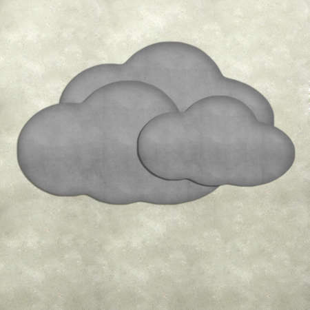 Weather plasticine craft stick on plasticine background  Stock Photo