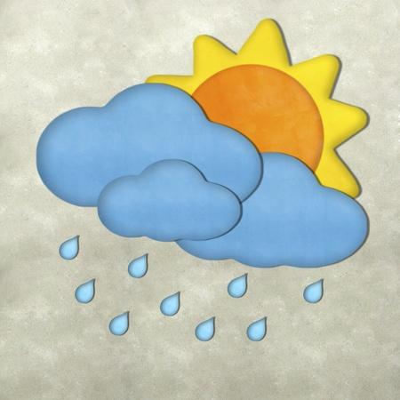 Weather plasticine craft stick  photo