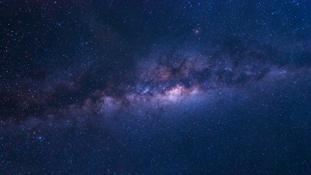 milky way galaxy: Colorful space shot showing the universe milky way galaxy with stars and space dust