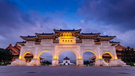 台北市中正記念堂 報道画像