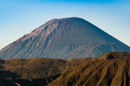 vulcano: Mount Semeru volcanoes in Bromo Tengger Semeru National Park, East Java, Indonesia Stock Photo