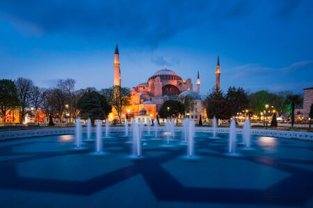 patriarchal: Hagia Sophia, a former Orthodox patriarchal basilica, later a mosque and now a museum in Istanbul, Turkey Editorial