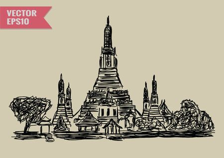 wat arun: World famous landmark collection