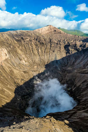 tengger: Crater of Mount Bromo volcanoes in Bromo Tengger Semeru National Park, East Java, Indonesia