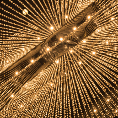 chandelier: Luxury Chandelier Light pattern background