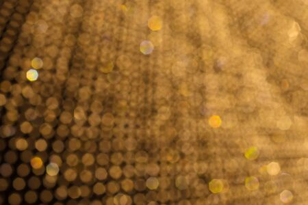 heptagon: Abstract chandelier light bokeh pattern background  for Christmas and New Year background