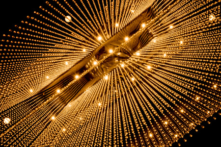 chandelier background: Luxury Chandelier Light pattern background