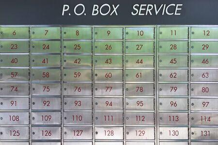 Postfachservice für Kunden bei der Post