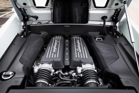 eos: Lamborghini LP560-4 Super Car engine room