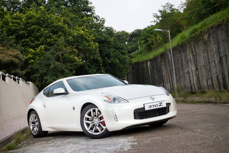 nissan: Nissan Fairlady 370Z Facelift 2013 Model with new body kit and white colour