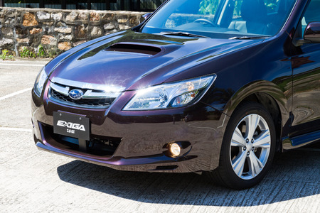 Subaru EXIGA 2.0GT 2013 Model Deep Purple Body Color
