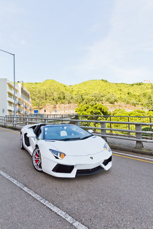 Lamborghini LP700-4 Super Car 2013 Model Limited Edition in Hong Kong Editorial