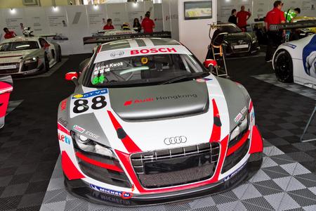 eos: Audi LMS Cup 2013 Pit Work Shop