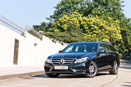 avant: Mercedes-Benz E-Class Avant 2013 Model with new facelift look.
