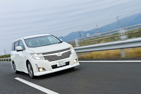 nissan: Nissan ENGRAND 2012 Model in Japan Editorial
