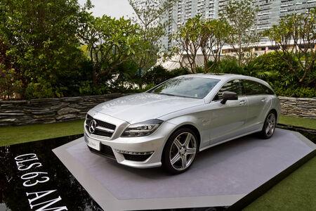 media event: Mercedes-Benz CLS Shooting Brake Media Event HK