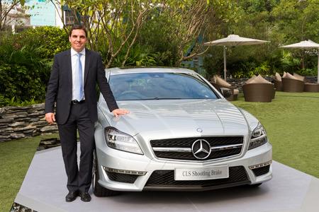 media event: Mercedes-Benz CLS Shooting Brake Media Event HK with Manager