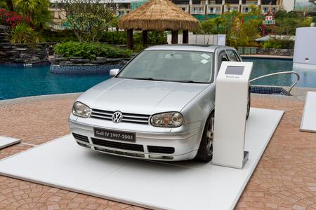 media event: Volkswagen Golf IV 1997-2003 Model in media event Editorial