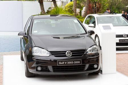 media event: Volkswagen Golf V 2003-2008 Model in media event